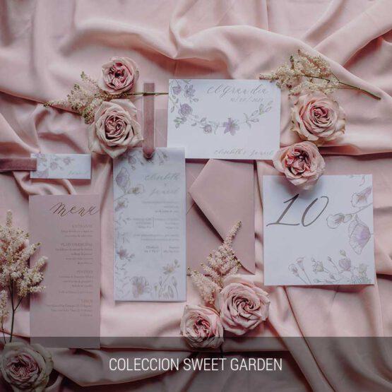 Coleccion Sweet Garden, detalles de boda