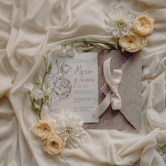 Invitaciones Old Romanticism, diseños exclusivos