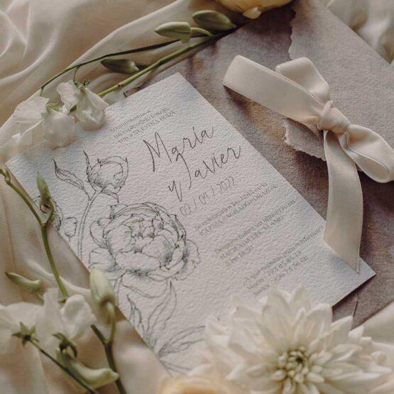Invitaciones Old Romanticismen, detalles del producto