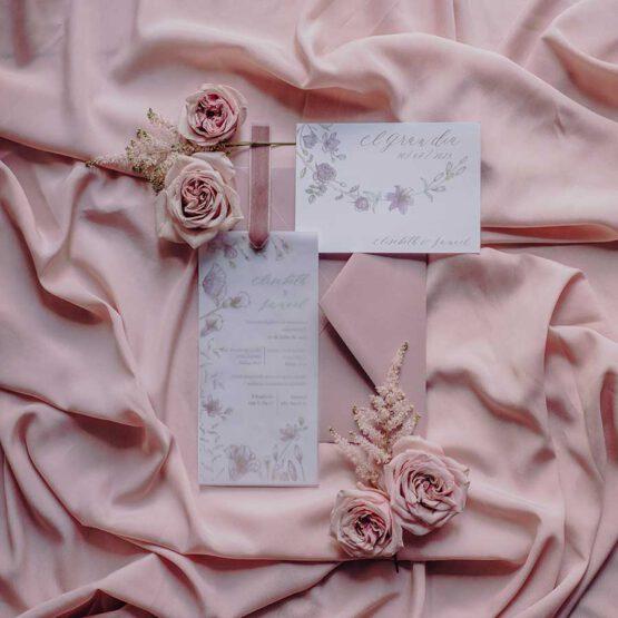 Invitacion boda colección Sweet Garden