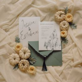 Invitacion boda Disney, weddingland