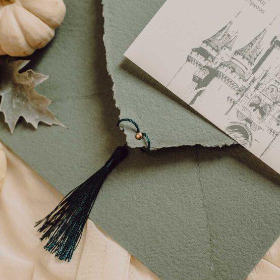 Invitacion boda weddingland, detalle producto