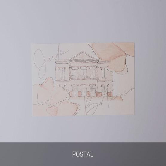 Postal invitación sweet watercolor