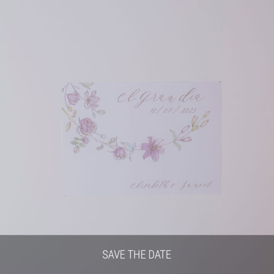 Save the date Sweet Garden