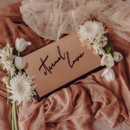 Album efecto espejo oro rosa